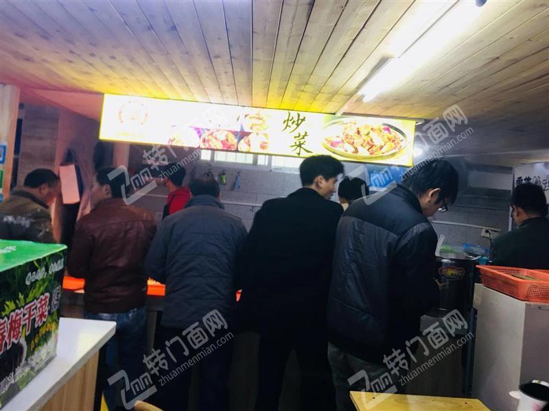 章江新区月盈利在2.5万的自助快餐转让